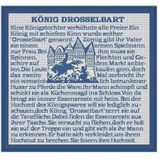 "Stickpackung König""Drosselbart"""