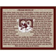 Stickvorlage Frau Holle