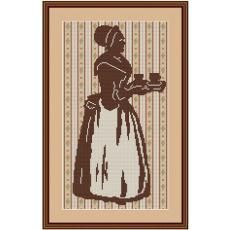 Stickvorlage Schokoladenmädchen2
