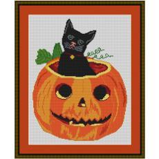 Stickvorlage Halloween 1