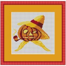 Stickvorlage Halloween 2