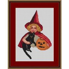 Stickvorlage Halloween 4