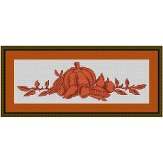 Stickvorlage Herbstidyll