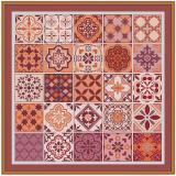 Stickvorlage Orientalische Mosaike