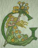 Blumenalphabet G