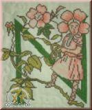 Blumenalphabet N