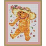Stickpackung Zahlenbär