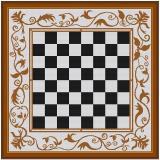 Stickvorlage Schachbrett