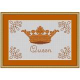 Stickvorlage Mustertuch Queen