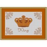 Stickvorlage Mustertuch King