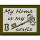 Stickvorlage My Home 5