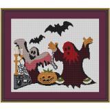 Stickvorlage Halloween 7