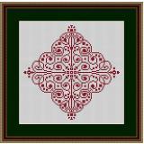 Stickvorlage Ornament 2