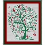Stickpackung Geschenkebaum