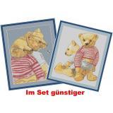 Teddybären 2  ( 2 Stickvorlagen)