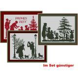 Weihnachten 5 ( 3 Stickpackungen)